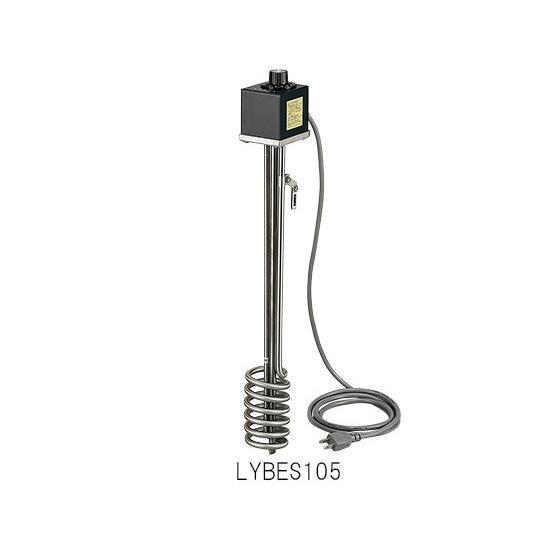 サーモスタット付投込みヒーター 高耐蝕性ステンレス 500W 1-8024-14