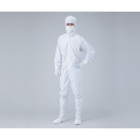 プロテノン無塵衣 FP182C 白 L 1-7868-03