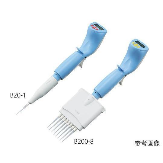 電動マイクロピペット(軽量タイプ) 8チャンネル 2〜20μL 3-9931-04