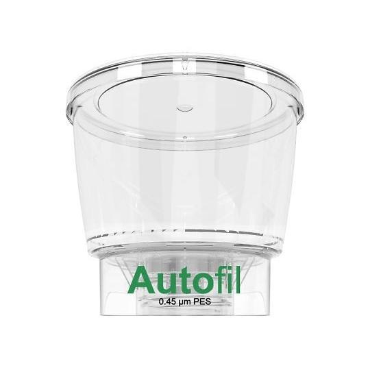 オートフィル濾過システム用ボトルトップフィルター フィルター孔径0.45μm 500mL 24個入 3-9980-05
