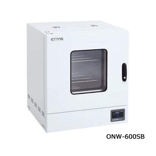 定温乾燥器(自然対流方式) スチールタイプ・窓付き 左扉 出荷前点検検査書付 1-9004-43-22
