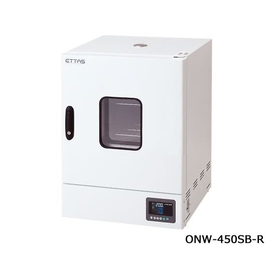 定温乾燥器(自然対流方式) スチールタイプ・窓付き 右扉 出荷前点検検査書付 1-9004-45-22