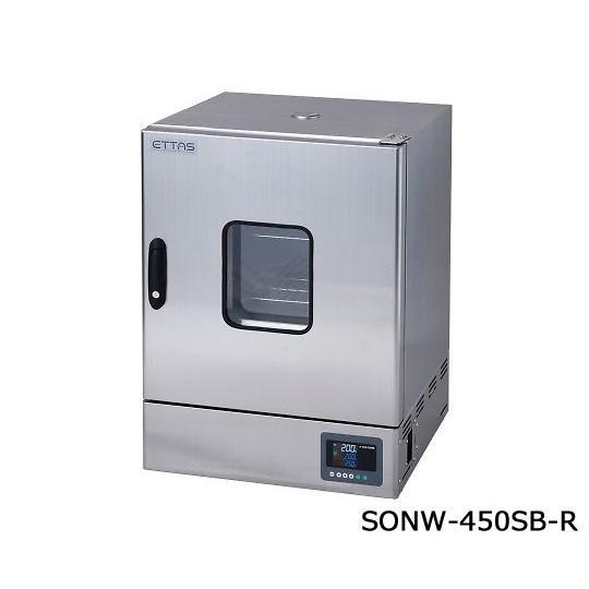定温乾燥器(自然対流方式) ステンレスタイプ・窓付き 右扉 出荷前点検検査書付 1-9001-55-22