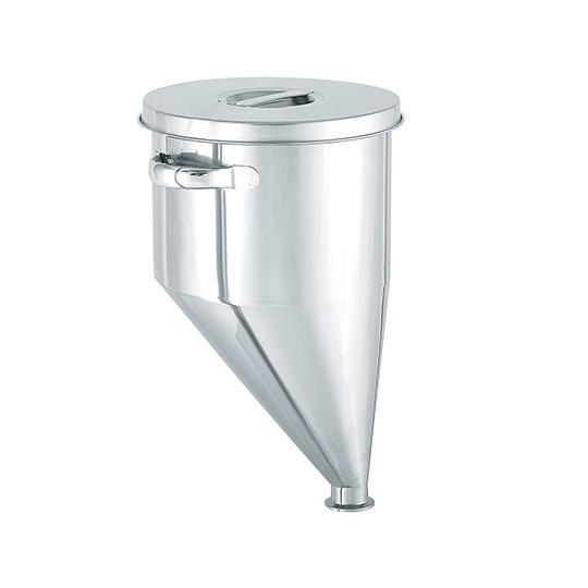 偏心ホッパー型容器 7L 3-8373-02