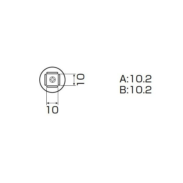 白光 ノズル/QFP 10X10MM A1125B