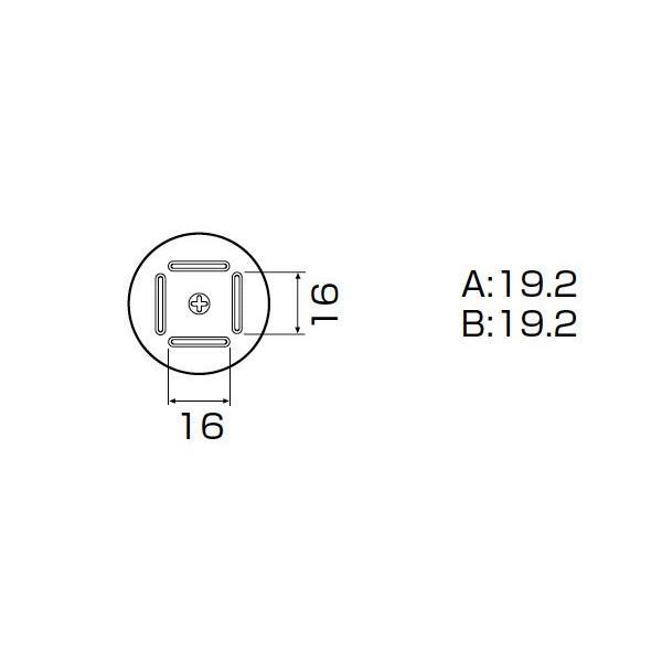 白光 ノズル/BQFP 19MM X 19MM A1181B