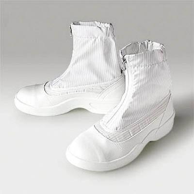 ゴールドウィン 静電安全靴セミロングブーツ ホワイト 26.5cm PA9875-W-26.5