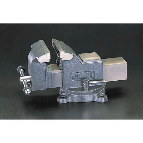 【直送品・代引き不可】125mm/0-125mm ワークショップバイス EA525WF-125