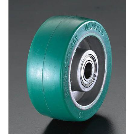 200x50mm 車輪(ポリウレタンタイヤ・アルミリム・ベアリング)