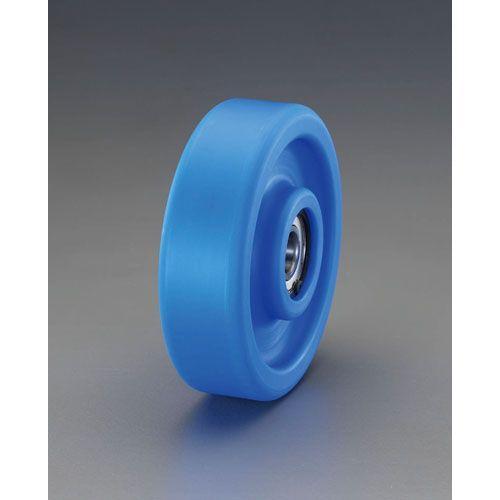 180x45mm 車輪(ベアリング付・MCナイロン製)