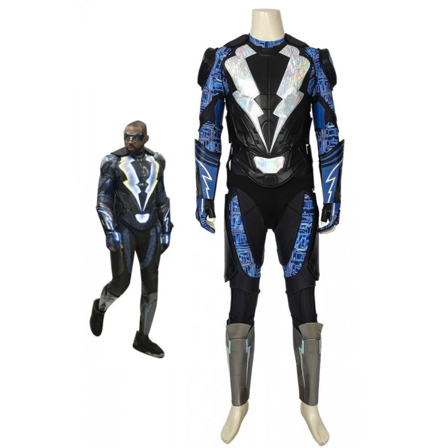 ブラックライトニング シーズン2 ジェファーソン・ピアース 黒 Lightning Season 2 Jefferson Pierce コスプレ衣装 cosplay コスチューム 仮装 映画