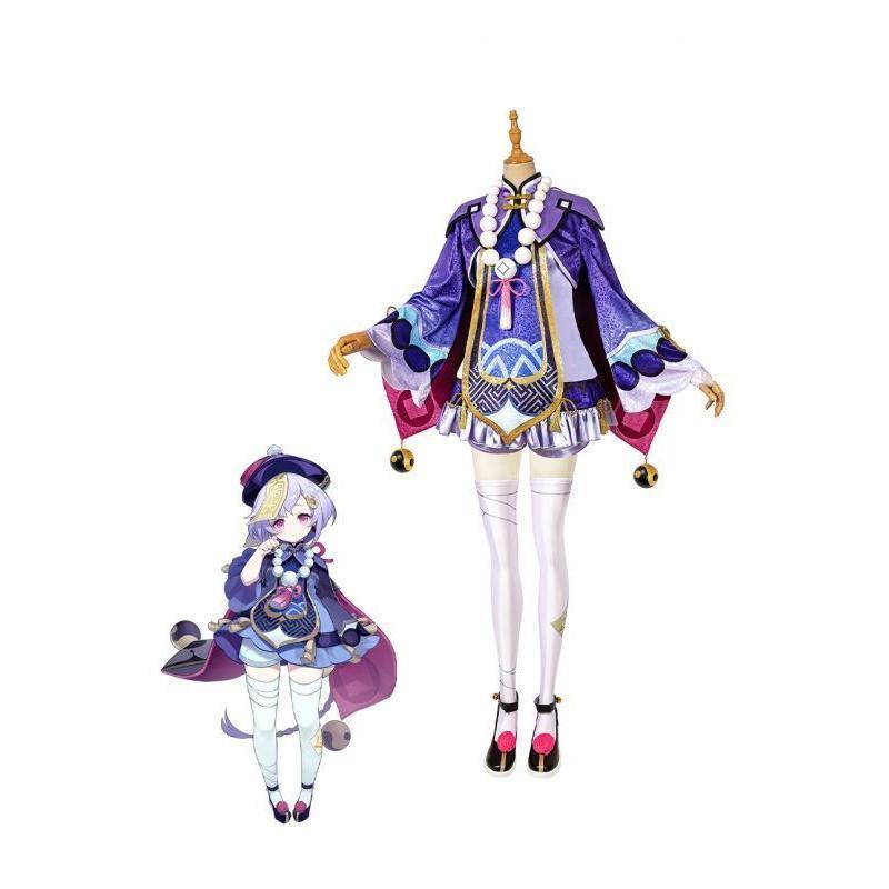 品質検査済 原神 げんしん 七七 ナナ Genshin コスプレ衣装 Impact コスチューム 商品追加値下げ在庫復活 QiQi cosplay