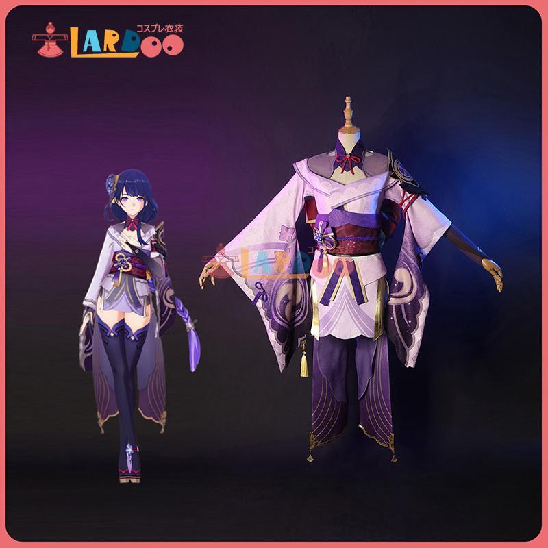 原神 安い Genshin げんしん 稲妻 雷電将軍 baal 送料無料お手入れ要らず コスチューム コスプレ衣装 cosplay
