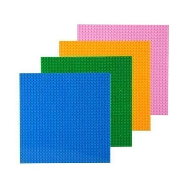 LEGO ブロック 基礎版 最新アイテム 土台 ベースプレート 4枚セット 32×32ポッチ 信頼 4色 レゴ 互換品