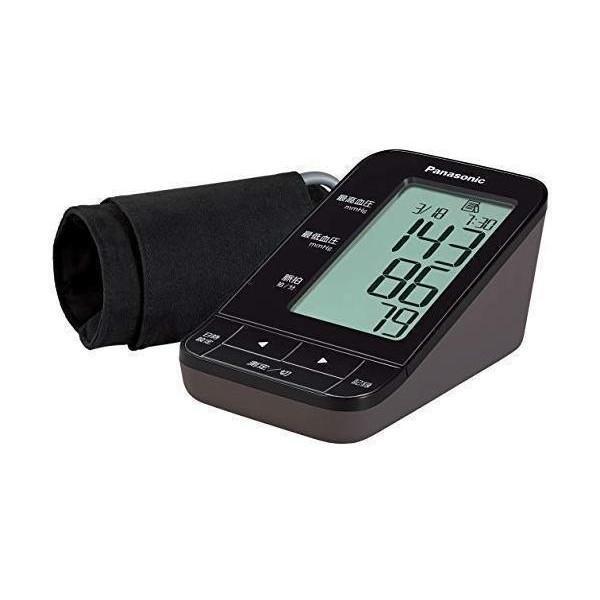 パナソニック モデル着用 ☆国内最安値に挑戦☆ 注目アイテム EW-BU17-T 上腕血圧計 Panasonic ブラウン