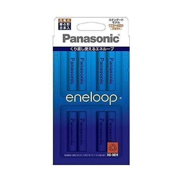 パナソニック BK-4MCC 在庫処分 8C ニッケル水素電池 単4形 市場 8本入 スタンダードモデル Panasonic eneloop