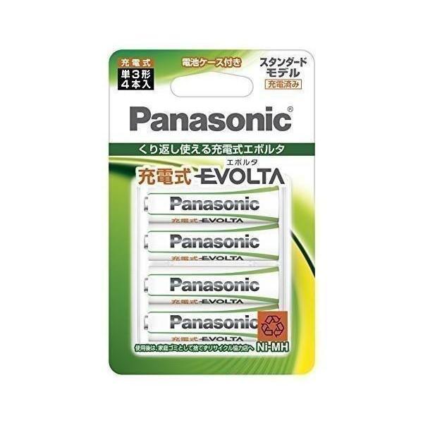 パナソニック BK-3MLE 当店一番人気 4BC 充電式エボルタ レビューを書けば送料当店負担 単3形 4本パック スタンダードモデル Panasonic