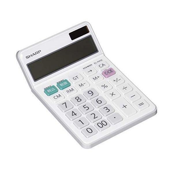 シャープ EL-N432-X ナイスサイズタイプ 12桁 ギフ_包装 期間限定 SHARP