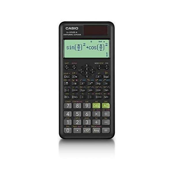 無料 カシオ fx-375ESA-N 関数電卓 微分積分 統計計算 モデル着用&注目アイテム 機能 CASIO 数学自然表示 394関数