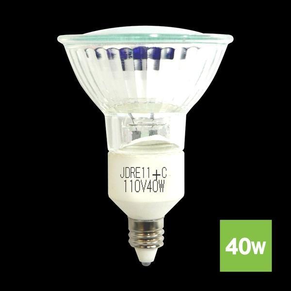 ハロゲンランプ ダイクロハロゲン電球 JDR110V40W-E11口金広角φ50省エネ 5個 激安 Lauda lauda 02