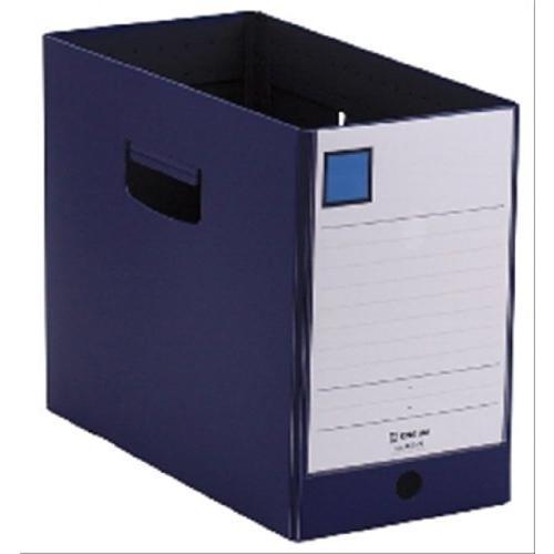 キングジム ファイルボックス Gボックス PP製 A4 横 収納幅150mm 4635N ネイビー|lavieshop