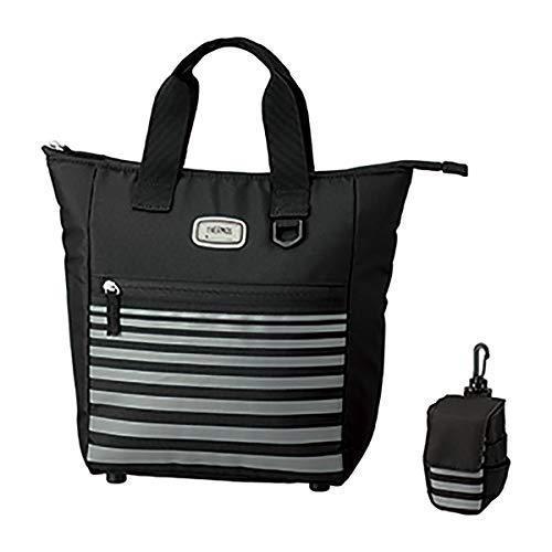 サーモス 保冷ラウンドトートバッグ(ブラック・容量:約5.6L)THERMOS REU-001BK|lavieshop
