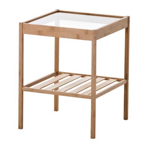 IKEAベッドサイドテーブルNESNA 海外並行輸入正規品 モデル着用&注目アイテム 送料¥750 代引き可