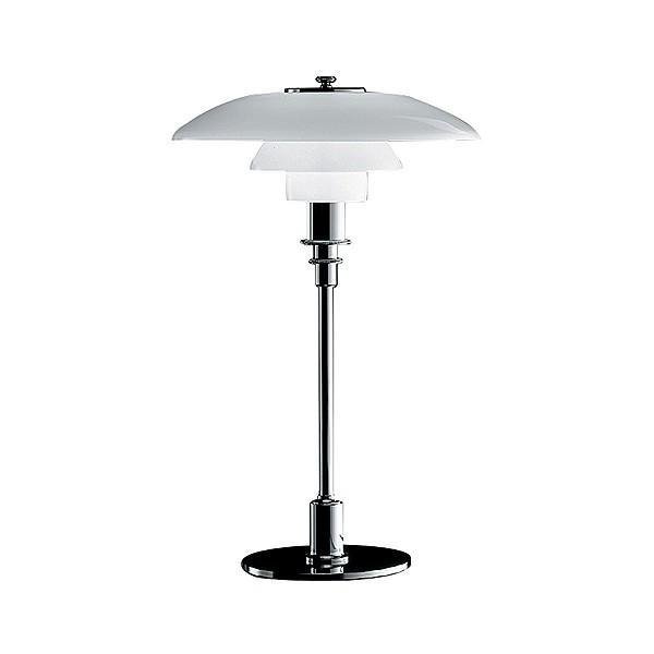 Louis Poulsen ルイスポールセン PH3/2Table シルバー/ガラス テーブルランプ