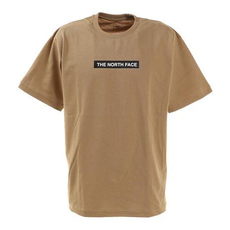 ノースフェイス THE NORTH FACE 宅送 お見舞い 半袖Tシャツ ショートスリーブボックスロゴティー NT321001X KT ベージュ シンプル メンズ