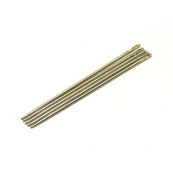 手縫針 丸針 細 5本 手縫い用針 記念日 クラフト社 セール メール便対応 レザークラフト工具
