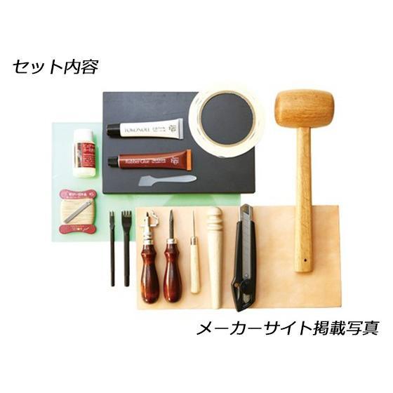 革手縫い工具18点セット<プレミアム>【送料無料】 [SEIWA]  レザークラフト工具|lc-palette|02