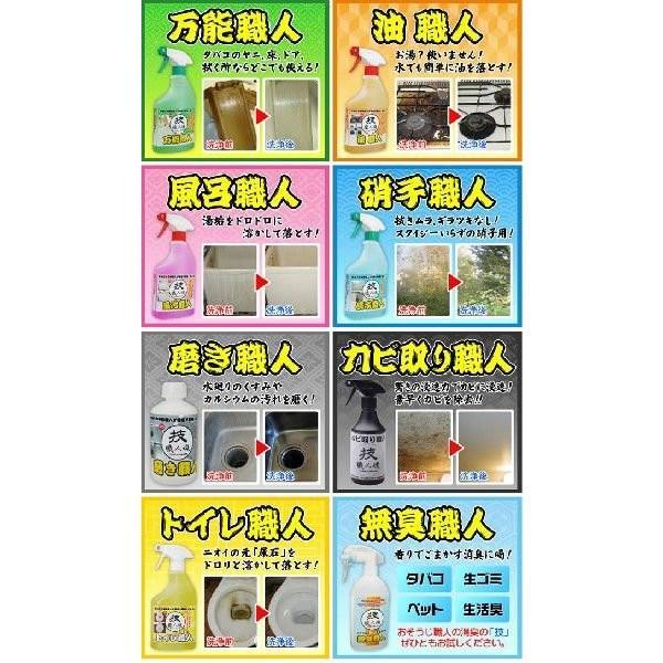 技職人魂 風呂職人 スプレーボトル 500ml 掃除 お風呂 洗剤 le-cure 04