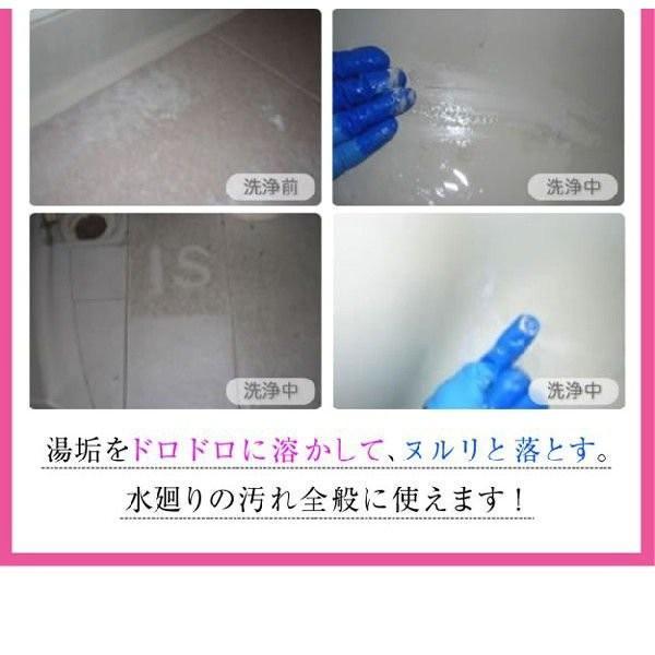 技職人魂 風呂職人 スプレーボトル 500ml 掃除 お風呂 洗剤 le-cure 07