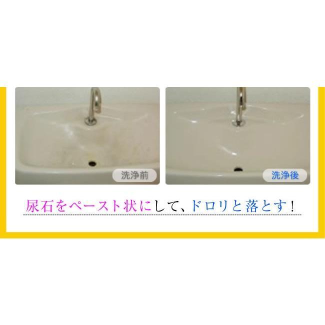尿石除去剤技職人魂 トイレ職人 スプレーボトル 500ml トイレの尿石落とし トイレの黄ばみ取り プロのトイレ用洗剤 便器 黒ずみ 汚れ 尿石とり|le-cure|05