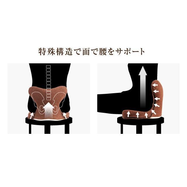 腰痛クッション 馬具マットプレミアムEX 椅子用馬具マット 腰痛対策|le-cure|03