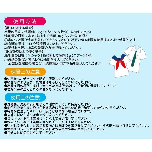 クリーニング屋さんの白さが際立つ浸けおき洗剤 日本製 洗剤 漂白 洗濯洗剤 業務用 業務用洗剤 加齢臭 襟汚れ 黄ばみ ポイント消化|le-cure|05