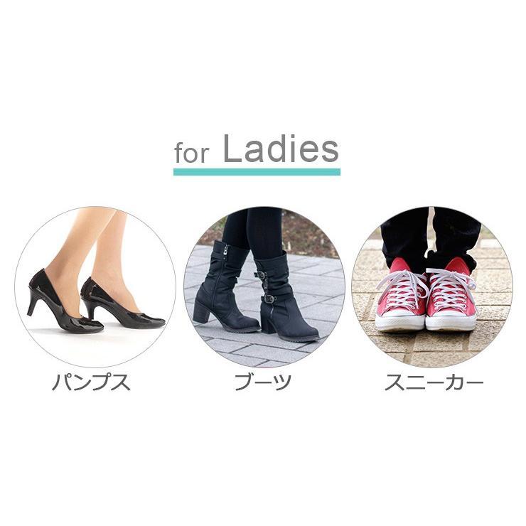 つま先 クッション タオル地つま先フィットクッション 靴が大きい 詰め物 メール便 送料無料 le-cure 06