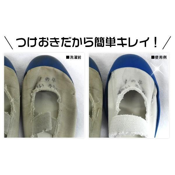 上靴用洗剤 クリーニング屋さんの白さが際立つ スニーカー洗剤 100g  ポイント消化 上履き用洗剤|le-cure|03