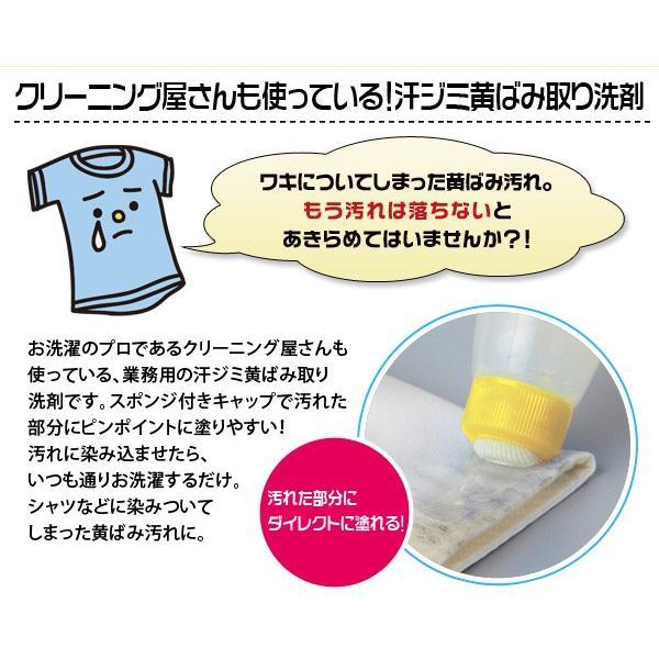 業務用 クリーニング屋さんの汗ジミ黄ばみ取り洗剤 175ml 徳用タイプ le-cure 03