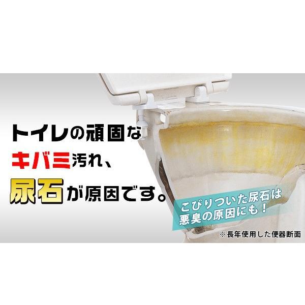 尿石落とし 徳用 キバミおちーるNEO 800ml 尿石除去剤 強力 黄ばみ取り洗剤 トイレ用洗剤|le-cure|02