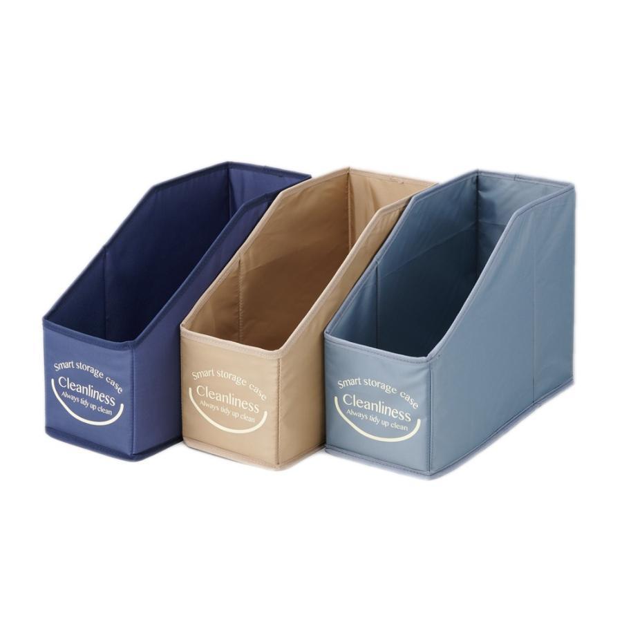 たためる洗面台下収納BOX 3色セット 折り畳める収納ボックス 収納箱 撥水加工 洗面台 トイレ キッチン 小物収納 整理整頓|le-cure|09