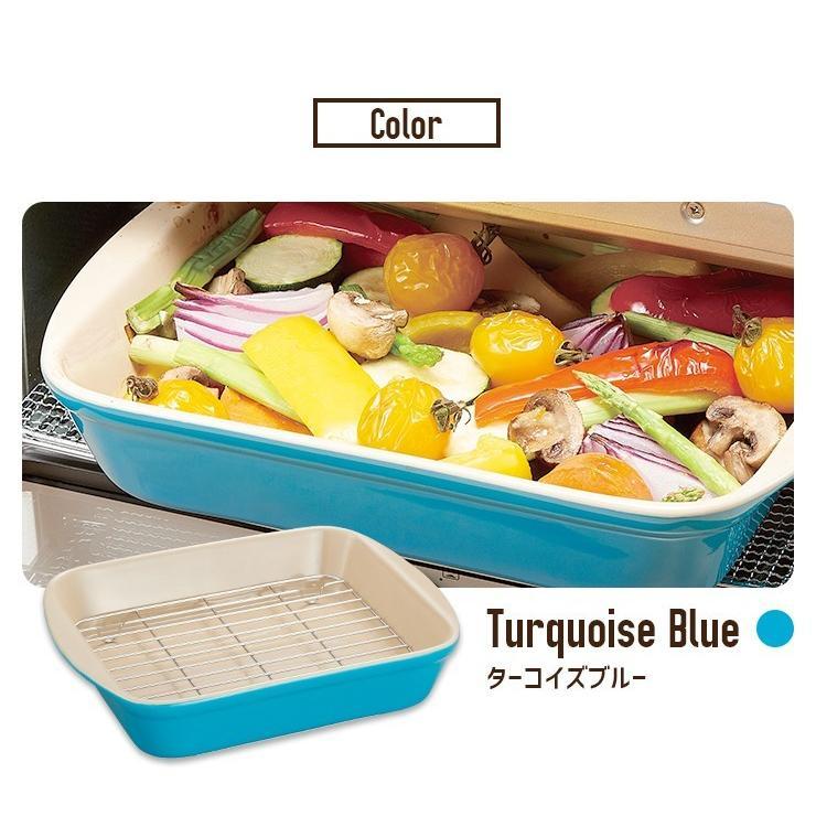 選べる2個セット そのまま食卓 網付オーブン皿 グリル皿 グラタン皿 オーブン 耐熱容器 耐熱皿 油きりバット 送料無料|le-cure|08