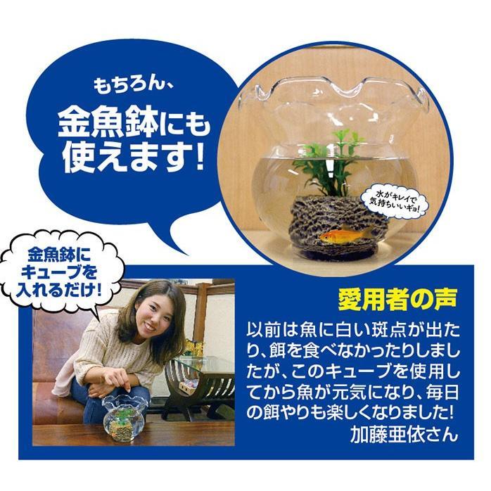 掃除 水槽 ろか材 お魚天国バイオキューブ 水槽の水換え 金魚鉢 セラミック ろ過材 フィルター 濾過材|le-cure|06
