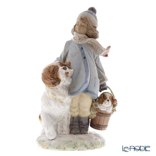 リヤドロ 冬の子供 12517(30×17cm) フィギュリン