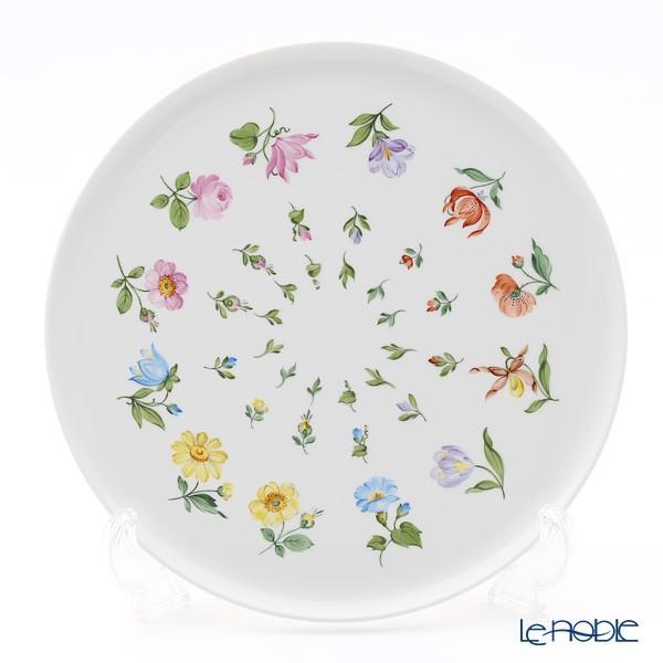 アウガルテン(AUGARTEN) ウィンナーフラワー 飾り皿(小花散らし)