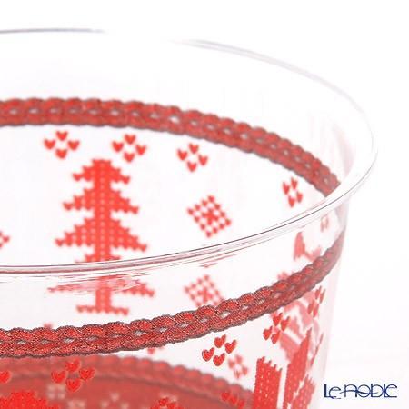 エクスクルーシブ トレード プラスチックカップ 300cc クロスステッチクリスマス EX71QR 10p|le-noble|04