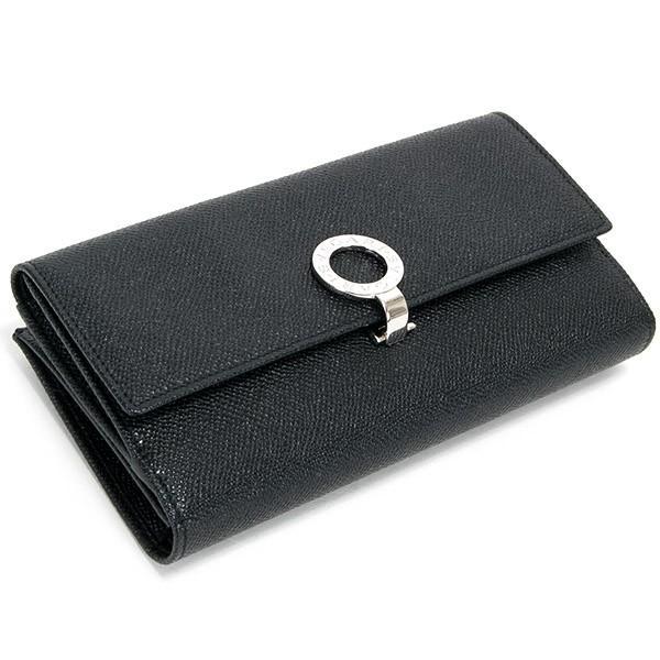 ブルガリ 財布 レディース 長財布 ブランド 二つ折り 本革 レザー ブラック 黒 30416 BLACK 正規品 シンプル 新品 新作 2021年 ギフト プレゼント 名入れ le-premier 03
