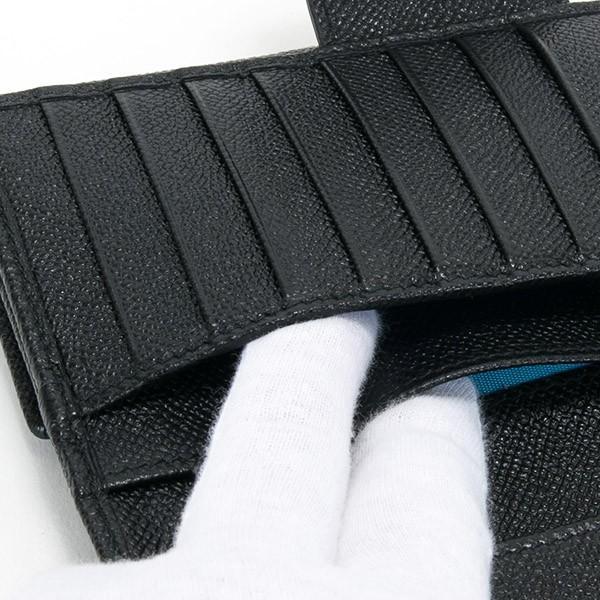 ブルガリ 財布 レディース 長財布 ブランド 二つ折り 本革 レザー ブラック 黒 30416 BLACK 正規品 シンプル 新品 新作 2021年 ギフト プレゼント 名入れ le-premier 05