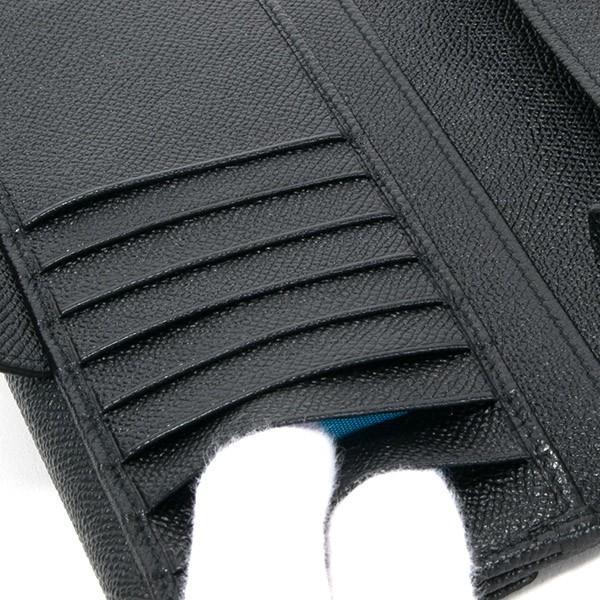 ブルガリ 財布 レディース 長財布 ブランド 二つ折り 本革 レザー ブラック 黒 30416 BLACK 正規品 シンプル 新品 新作 2021年 ギフト プレゼント 名入れ le-premier 06