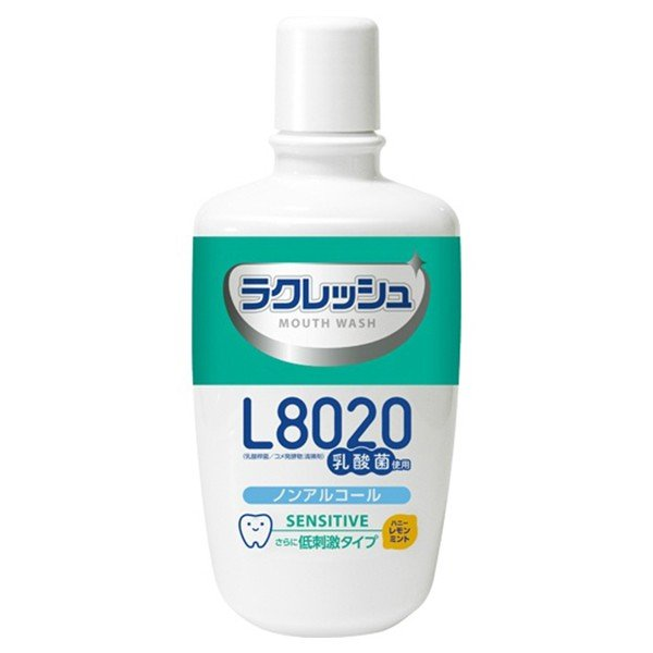 超目玉特価 ジェクス L8020乳酸菌 ラクレッシュ センシティブ マウスウォッシュ 低刺激タイプ 300ml lead